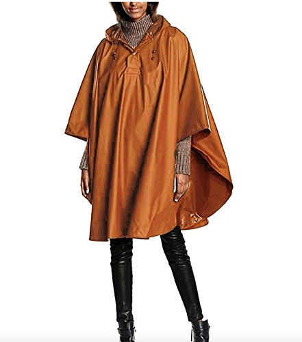 Charles River Apparel Pacific Poncho (Saddle)