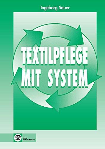 Textilpflege mit System, Lehrbuch