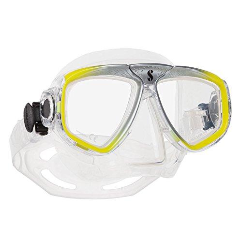Scubapro Zoom EVO - Máscara de buceo, color amarillo