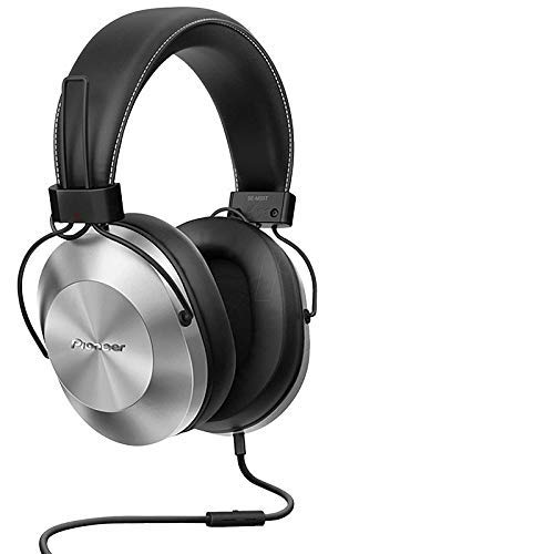 Headphone com Microfone, Pioneer Se-MS5T-S, Prata