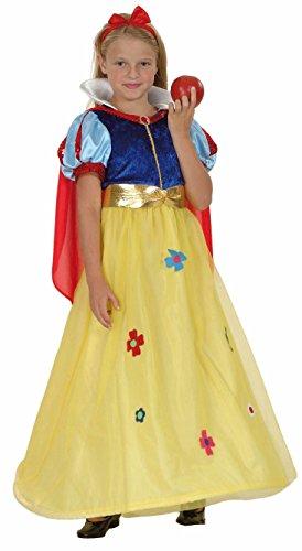 Party Pro Costume Petite Reine Blanche Taille : 4/6 ans (102 à 114 cm)