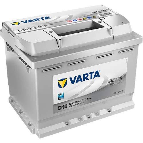 D15 Varta Silver Dynamic Autobatterie 63Ah