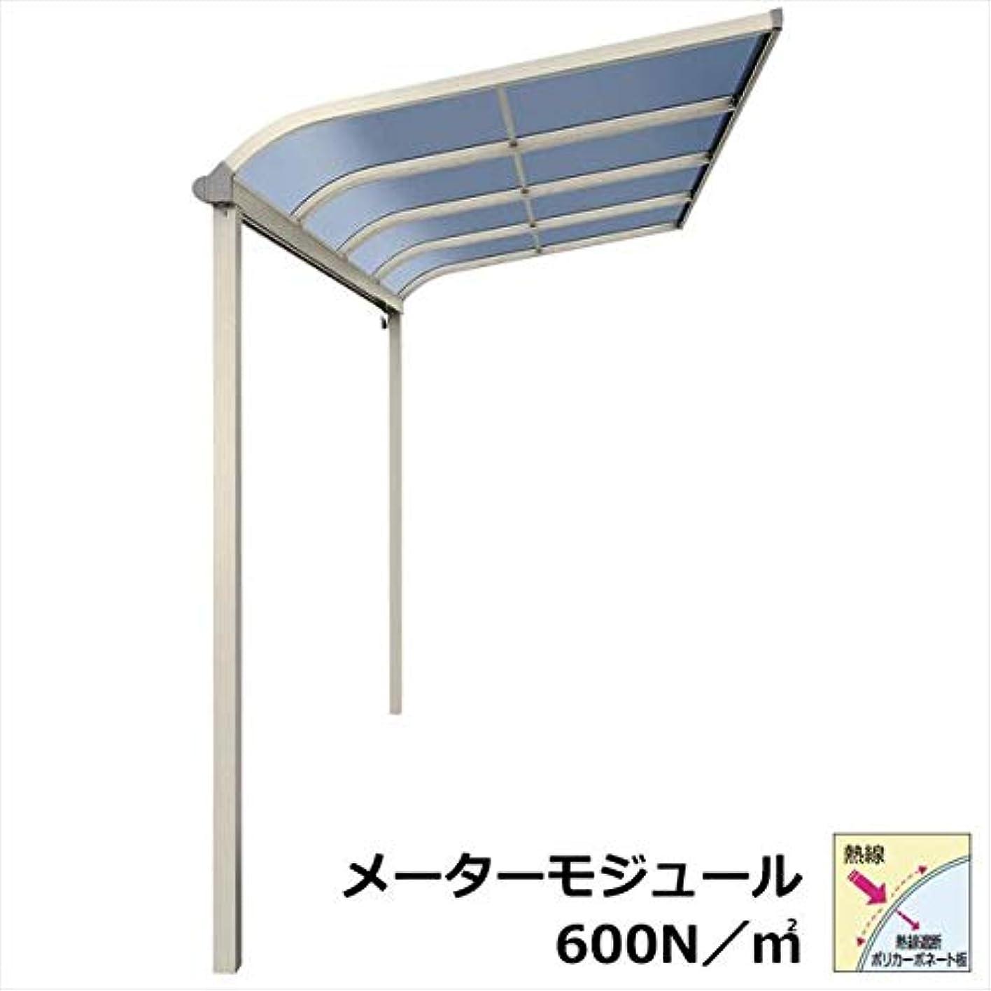 こしょうマッシュ程度YKKAP テラス屋根 ソラリア 3.5間×10尺 柱標準タイプ メーターモジュール アール型 600N/m2 熱線遮断ポリカ屋根 2連結 標準柱 積雪20cm仕様 プラチナステン