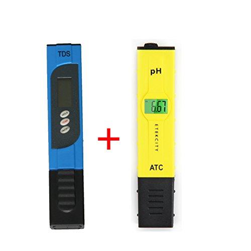 Xcellent Global Testeur PH Haute Précision + TDS-3 Handheld TDS numérique LCD rétroéclairé M-HG078
