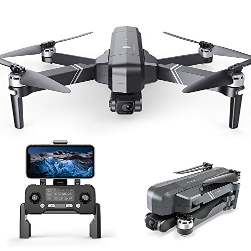 Ruko F11 Gim drone for Adults, Drone with 2-Axis gimbal 4K Camera Brushless Motor, 56Mins Flight Time, GPS Quadcopter for Beginner