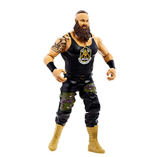 WWE Figura Braun Strowman, muñeco articulado de...