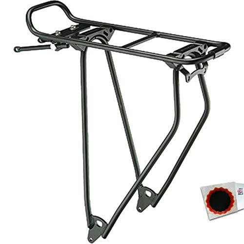 Racktime H.R.-Gepäckträger Stand-it 28Zoll schwarz 687 g 01210 404817401+Flicken