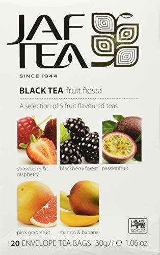 JAF TEA Schwarzer Tee - Früchte Party - 20 Teebeutel