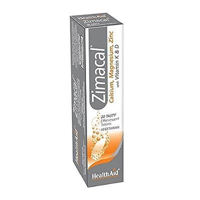 HealthAid Zimacal - Effervescent - 20 Vegetarian Tablets