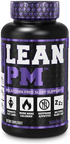 Lean PM Melatonin Free Fat Burner Sleep Aid Night Time Sleep Support Weight Loss Supplement product image