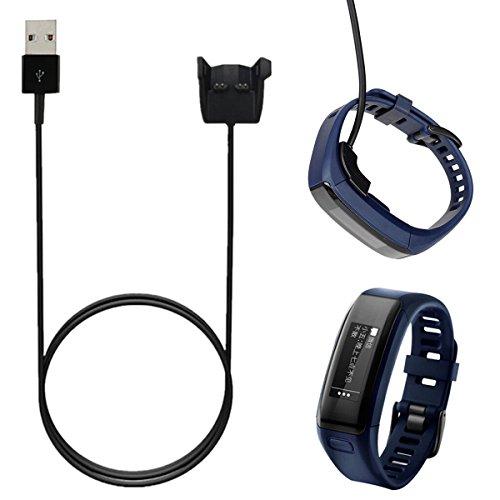 Bluelover Reemplazo USB Cargador Clip Cable De Horquilla para Garmin Vivosmart HR/HR +