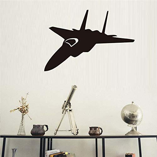 Tianpengyuanshuai Art Deco Transport Fighter Spray Home Decor Aircraft Wall Sticker Boy Bedroom Wall Decor