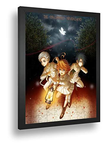 Quadro Decorativo Poster Anime Anime Yakusoku No Neverland