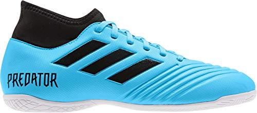 adidas Performance Kinder Hallenschuh Predator 19.4 S IN J hellblau, Größe:36.5