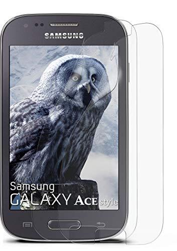 MoEx Anti Reflex Bildschirmschutzfolie kompatibel mit Samsung Galaxy Ace Style   Schutzfolie Matt Bildschirm Folie gegen Reflexionen, flexibel, 2X Stück