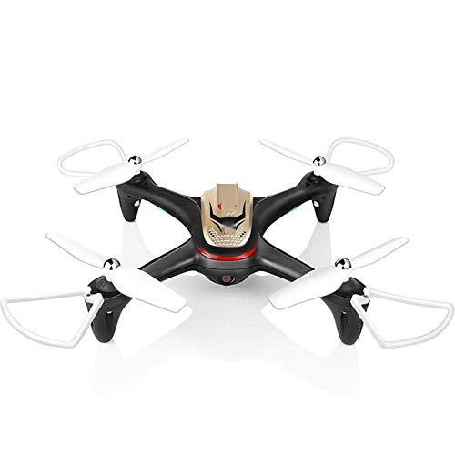 J-Love Drone Camera Transmisión en Tiempo Real Avión aéreo Despegue con un Clic Avión Control Remoto X15W Avión aéreo UAV3D Avión Drone Marcha atrás, Negro