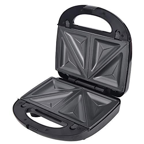 YYMM Fabricante de sándwich, máquina de panini tostadora 3 en 1 con Placas no pegajosas Desmontables, Luces indicadoras LED, Mango de Toque Fresco, para Cada Cocina