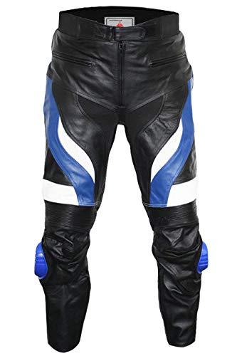 German Wear, Motorradhose Motorrad Biker Racing Lederhose, Größe:56