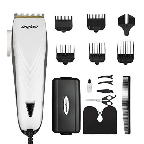 Haarschneider SUPRENT 24 Längeneinstellungen Verstellbar Haarschneidemaschine Männer Profi, Schnurgebundene Elektrisch Geräuscharmes Haarschneidemaschine Set