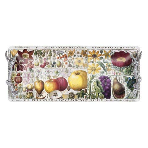 Mariposa Botanica Rectangular Tray with Branch Handles