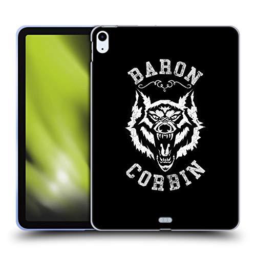 Head Case Designs Licenciado Oficialmente WWE Lobo Solitario 2 Barón Corbin Carcasa de Gel de Silicona Compatible con Apple iPad Air (2020)