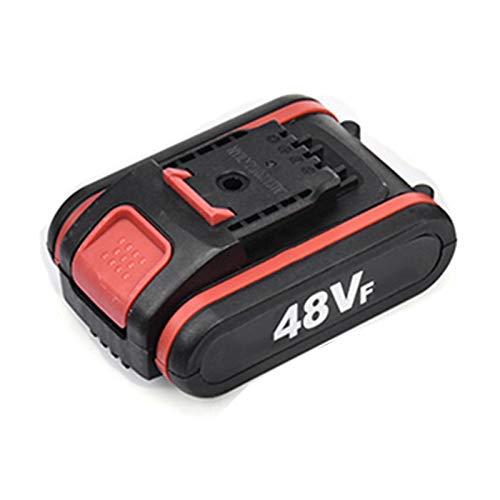 Tijeras de podar eléctricas de 48 V, inalámbricas, recargables, 2 baterías, diámetro...