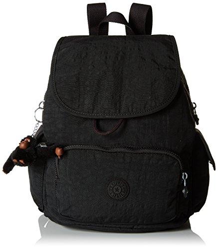Kipling City Pack S - Zaini Donna, Nero (True Black), 27x33.5x19 cm