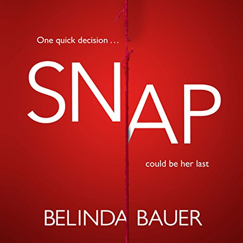 Snap audiobook cover art