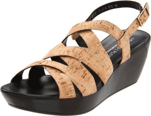 Donald J Pliner Women's Bozie Wedge Sandal,Camel,10 M