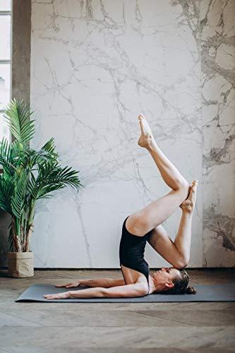 Pintura por número para adultos,kit de pintura DIY por número para principiantes o niños como regalo (16 x 20 in.) sin marco-Bella mujer practicando el pino de yoga