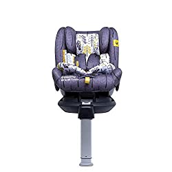 suitable from birth up to 36kg (approx. 12 years old) extended rearward-facing 0-18kg (approx. 4 years old) forward-facing 9-36kg (approx. 12 years old) Material composition: Polyester, Steel, Plastic