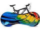 KaiXINSun Hermosas Plumas De Colores Funda para Bicicleta Tela Elástica A Prueba De Suciedad Antipolvo Viento UV Almacenamiento Exterior, Bolsa Almacenamiento Bicicletas Cubierta Protección Interior