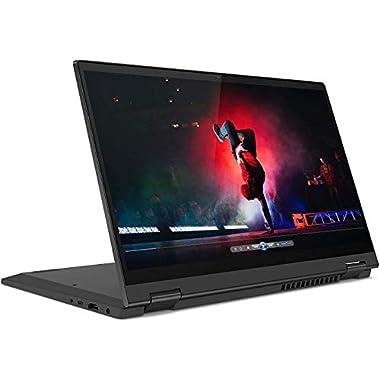 Lenovo IdeaPad Flex 5 2-in-1 Laptop, 14″ Full HD IPS Touch Screen, AMD Ryzen 7 4700U, Webcam, Backlit Keyboard, Fingerprint Reader, USB-C, HDMI, Windows 10 Home, 16GB RAM, 512GB PCIe SSD