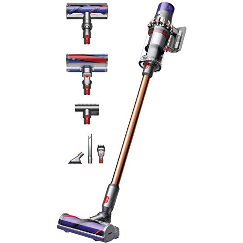 Dyson Aspirador Vertical Cyclone V10 Absolute Sin Cable, Anti-ácaros
