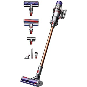 Dyson 330V10ABSOLUTE+ V10 Absolute Cordless Stick Vacuum Cleaner-Grey and Red, Plastic