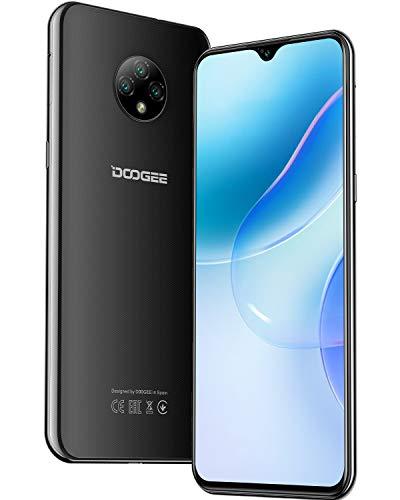 "DOOGEE X95 Pro 2021 Smartphone 4G 6.52 ""HD + Schermo, 4350mAh Batteria Helio A20 4GB RAM + 32 ROM 13MP + 5MP Fotocamera Dual SIM Android 10 Bluetooth 5.0 Cellulari Offerte Nero."