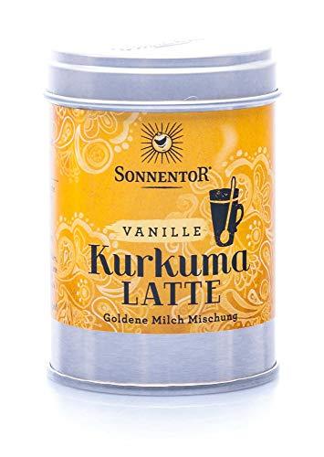 Sonnentor Kurkuma-Latte Vanille bio, Dose, 1er Pack (1 x 60 g)