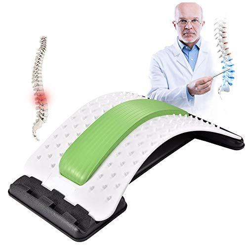 Preisvergleich Produktbild SDDFA Back Stretcher Schmerzlinderung im unteren und oberen Rücken,  Lendenwirbeldehner,  Haltungskorrektur,  Rückenstütze für Bürostuh