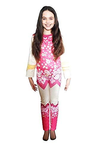 Costume Mia and Me - Bambina - Bimba - Travestimento - Carnevale - Halloween - Cosplay - Accessori - Taglia 120 7-8 anni - Idea regalo per natale e compleanno