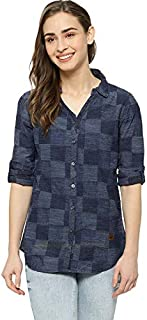Campus Sutra Women Full Sleeve Casual Shirt