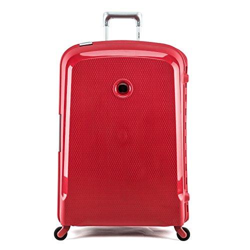 Delsey Trolley grande 4 ruote rosso Belfort - 76 cm