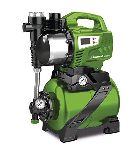 Cleancraft Hauswasserwerk DWS 1105 (24 Liter Speicher, selbstansaugend, Digitalanzeige, Edelstahlgehäuse), 7522200