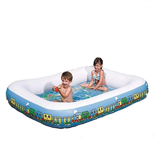 MAYI Nadar Infantil, Anillo Único Rectangular, Forma de Tren, Centro de Natación Familiar Ocio