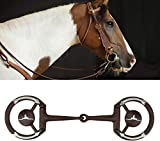 HEEPDD William Hunter Equestrian Morso per Cavalli, in Acciaio Inox, con Inserto in Rame...