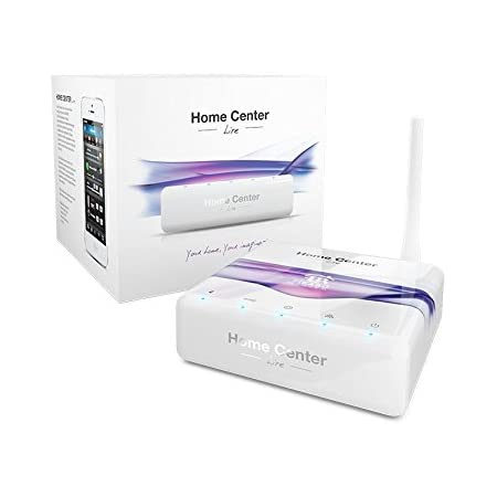 FIBARO Home Center Lite Z-Wave Smart Hub, FGHCL, white