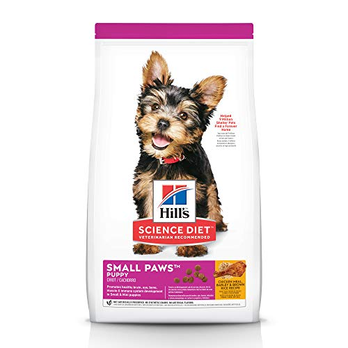 Hill's Science Diet Puppy Small & Toy Breed with Chicken Meal & Barley
