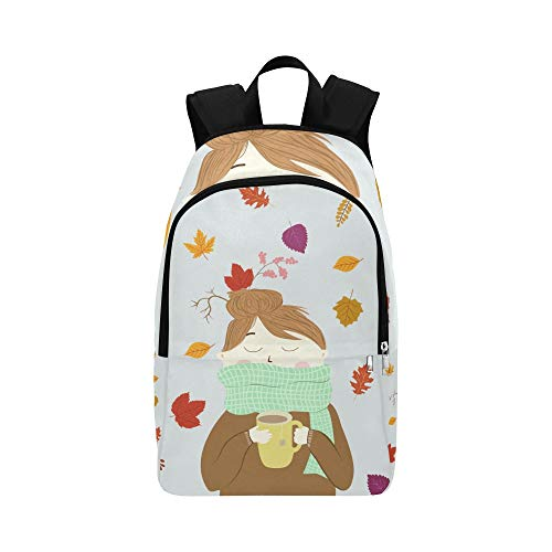 DKGFNK Best Daypack Scarf Girls Warm Pretty Women Durable Water Resistant Classic Daypack Men Daypack for Teens Carry On Travel Bag Big School Backpack