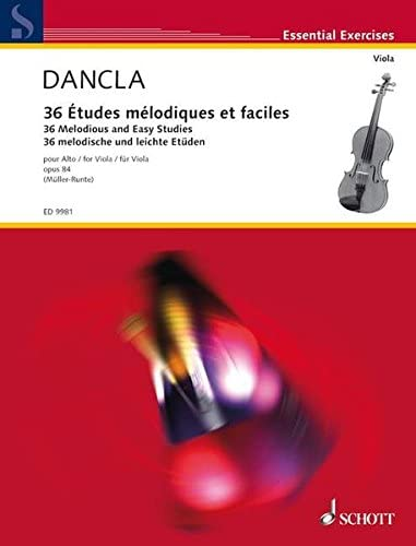36 MELODIOUS AND EASY STUDIES OP 84 ALTO product image