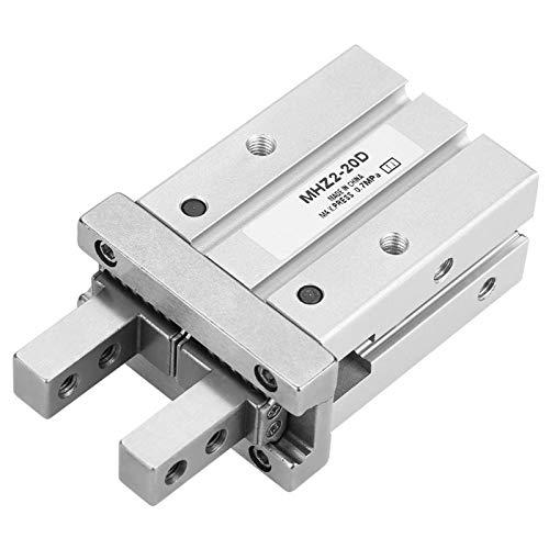 LANTRO JS - Cilindro De Aire Neumático De 20 Mm, Diámetro Interior Paralelo Estilo Mhz2-2