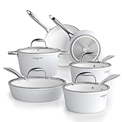 COOKSMARK Diamond-Infused Nonstick Cookware Set